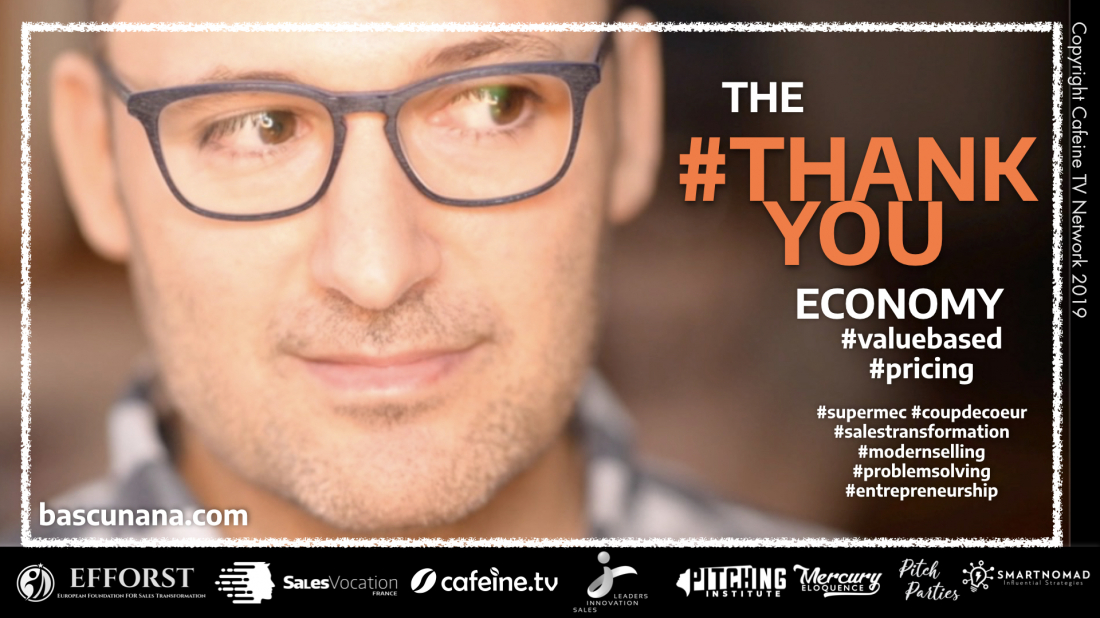 #THANKYOU ECONOMY #01 : Malik REZZOUG, le value pricing, et la vente.